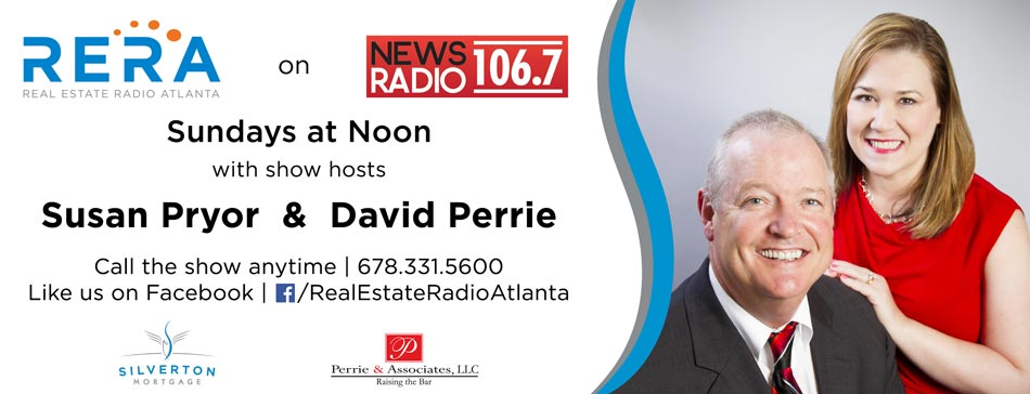 David Perrie's show is on Sundays at noon on Real Estate Radio Atlanta